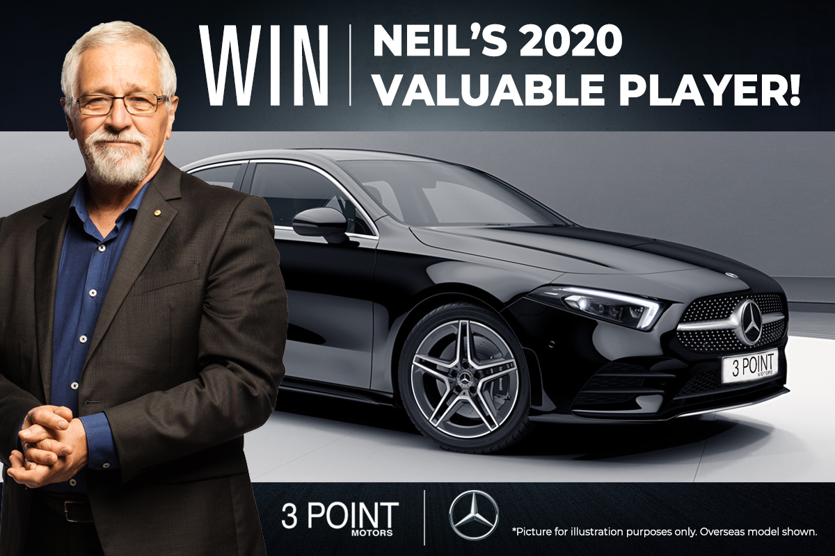 Want to be Neil's 2020 Valuable Player?