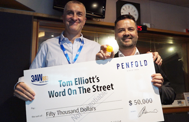 Article image for Tom Elliott reveals this year's Word On The Street winner!