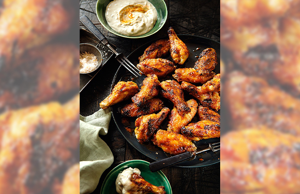 Bob Hart's recipe for Buffalo Wings
