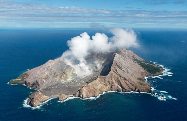 Article image for Volcano expert says tourists should have been kept away from White Island