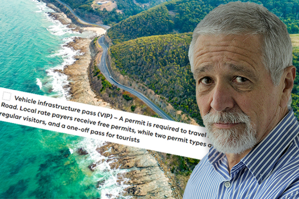 Article image for Neil Mitchell program embroiled in semantic spat with state government over Great Ocean Road fee