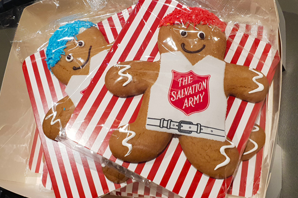 Article image for They're back! Major Brendan Nottle gingerbread men are on sale again