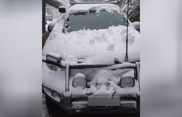 Article image for Summer snow: Victoria's weather has completely lost the plot