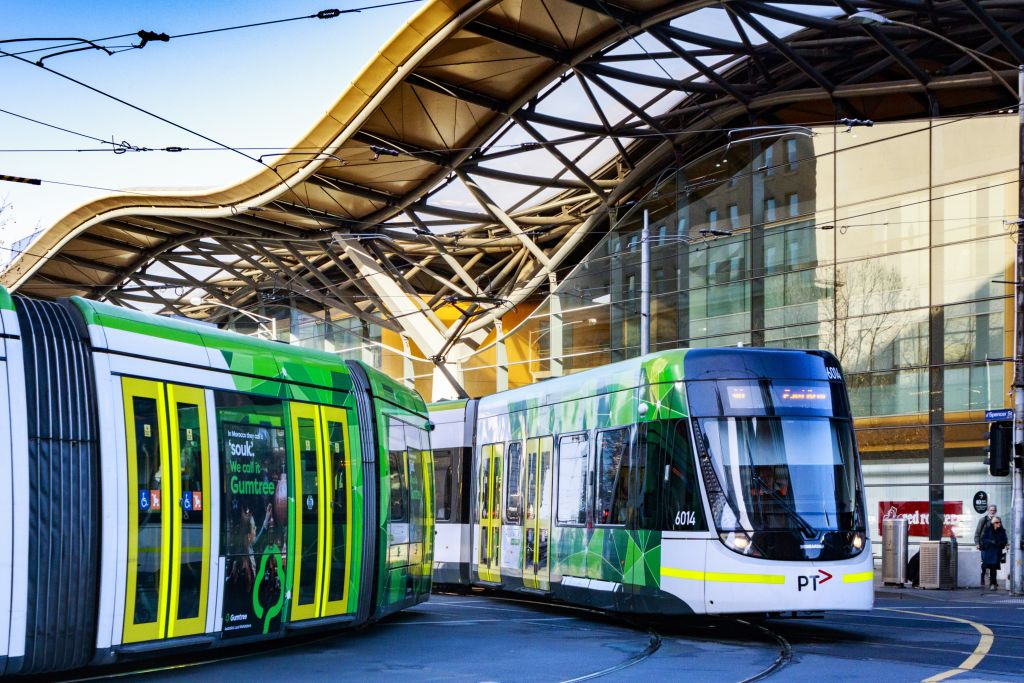 Article image for Tram strike leaves tennis fans and tourists stranded
