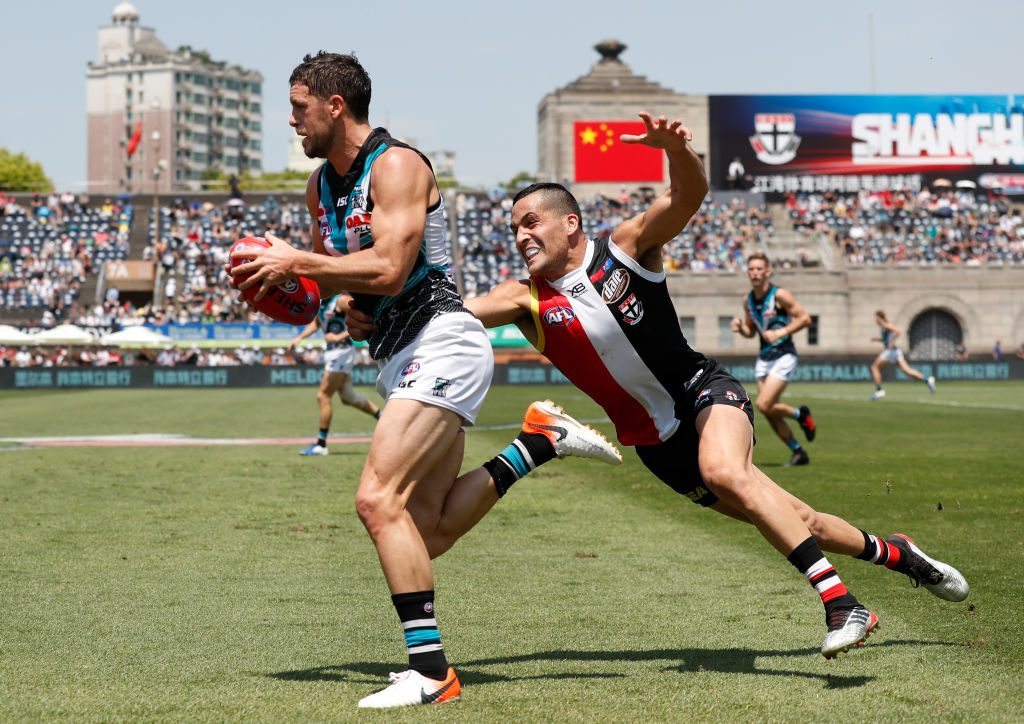 Article image for AFL clash in China now 'little chance' of going ahead