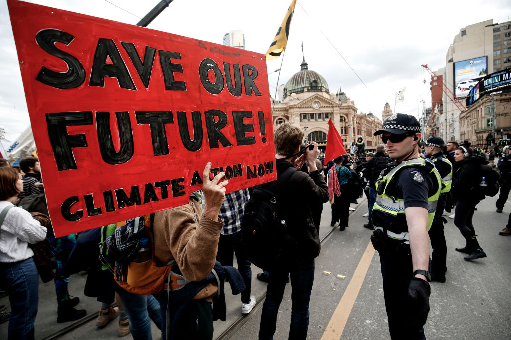 Article image for Climate protesters plan to cause as much CBD disruption as possible, despite oppressive conditions
