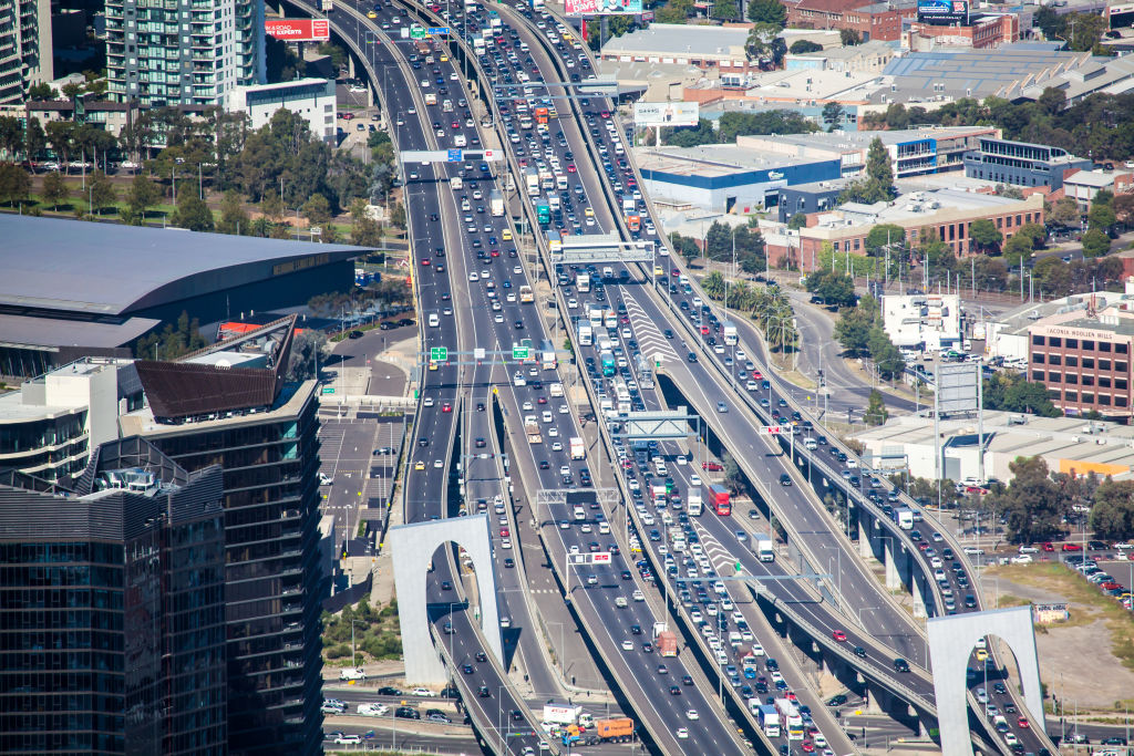Article image for Traffic chaos in Melbourne's west set to continue for weeks