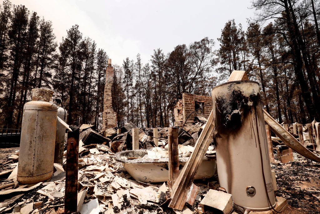 Article image for 'Should never have been built': Fire management expert calls for ban on building new houses in high fire risk areas