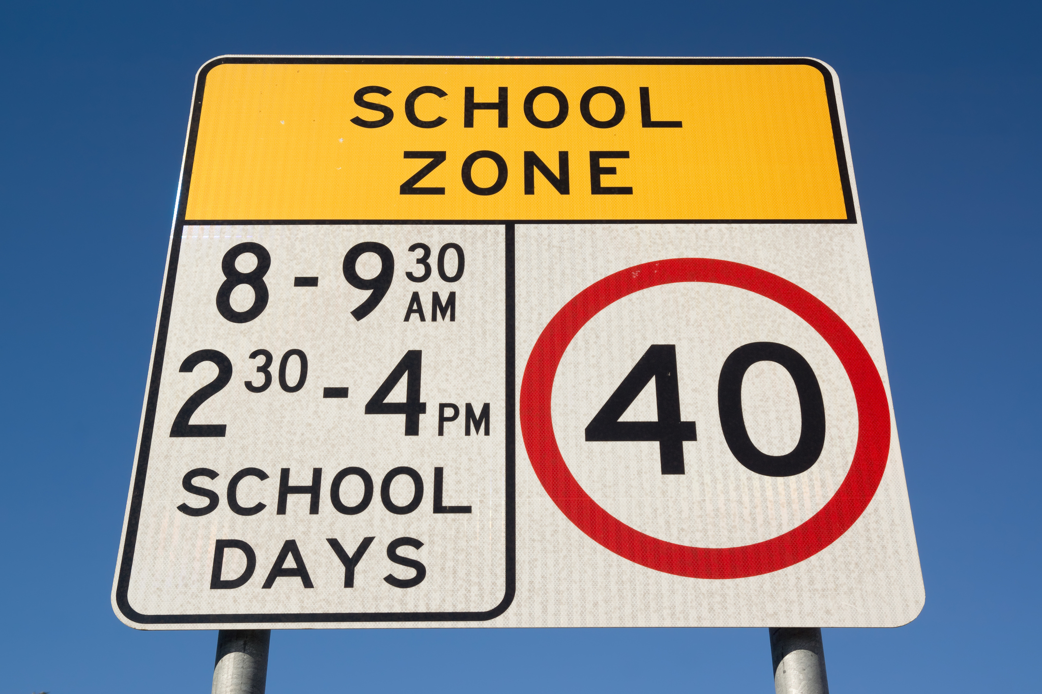 Article image for Drivers warned to obey school zones even when signs aren't flashing