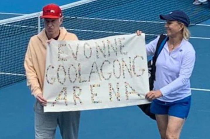 Article image for John McEnroe says he doesn't regret his protest against Margaret Court