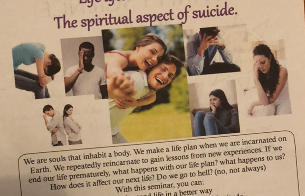 Article image for Disturbing flyer found in Essendon West letterbox