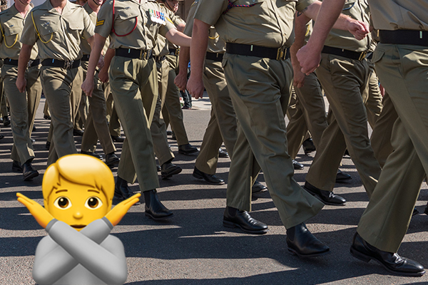 Article image for The app popular with your kids but banned by the Australian Defence Force
