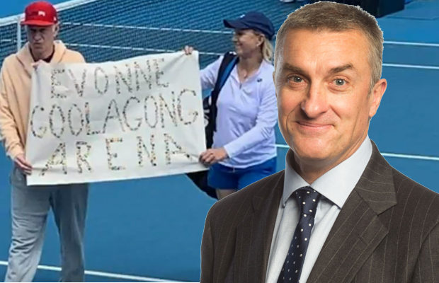 Article image for Tom Elliott has a crack at John McEnroe and Martina Navratilova over their Australian Open protest