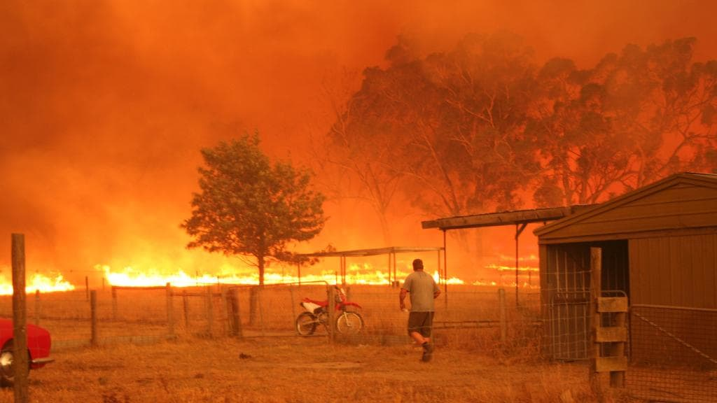 Barry lost everything in the Black Saturday bushfires of 2009. A call to this station changed his life.
