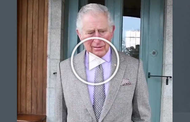 Article image for Emotional Prince Charles posts heartfelt message to Australia