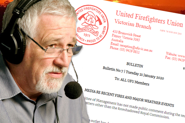 Article image for Neil Mitchell slams UFU over 'insulting' suggestion firefighters calling 3AW aren't really CFA volunteers