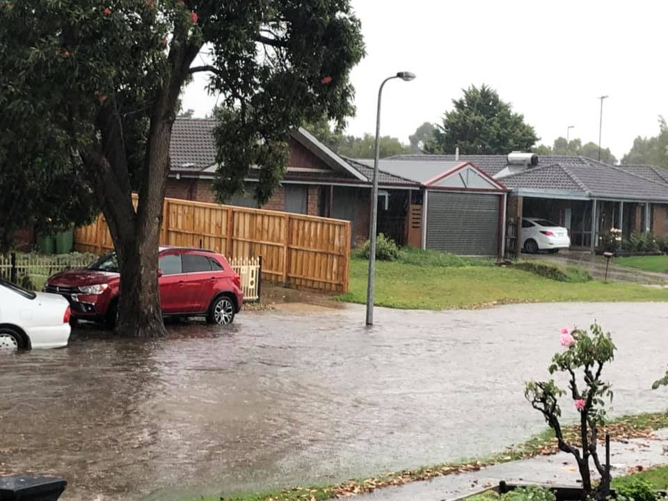 Article image for Fire and floods: Massive rain total can't quell fire danger