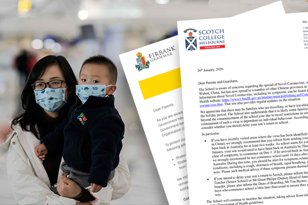Article image for 'I can understand why parents are concerned': Governments at odds over school coronavirus precautions