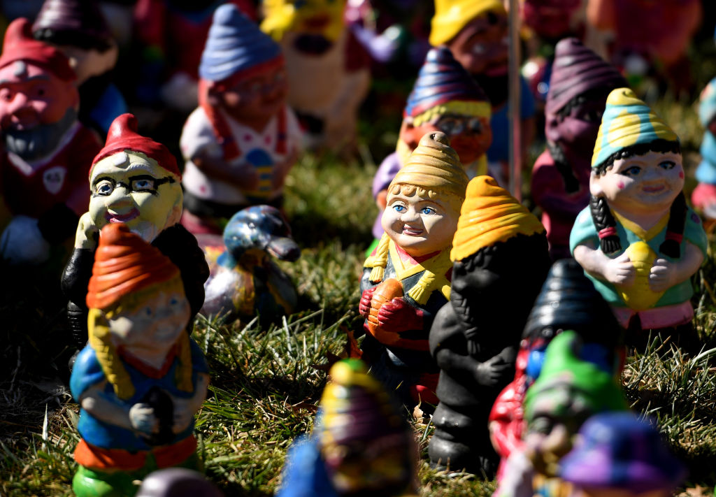 Man arrested and charged over disappearance of 150 garden gnomes