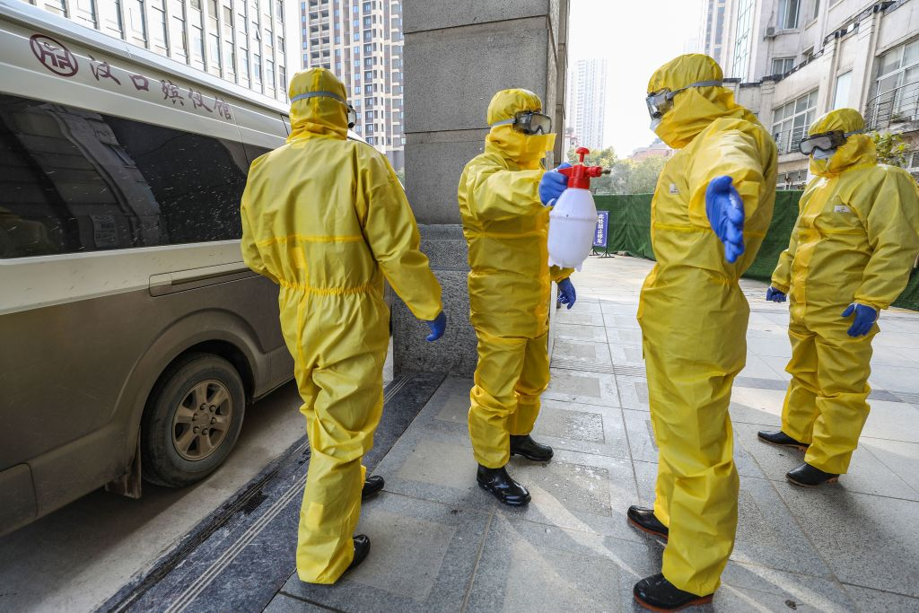 Article image for Australian undertakers send body bags, protective gear and disinfectants to Wuhan