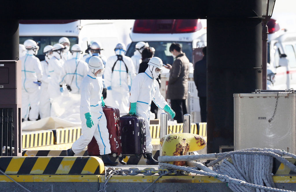 Article image for Two Australians among 10 confirmed coronavirus cases on cruise ship in Japan