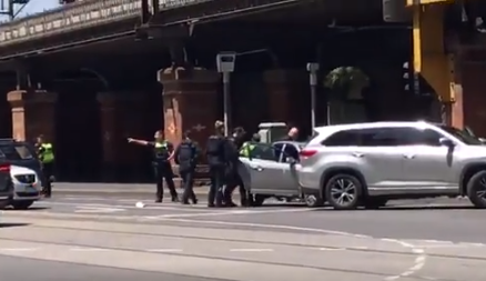 Article image for Man arrested over scary CBD incident