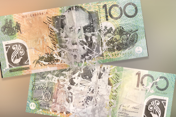 Article image for Some very convincing counterfeit $100 notes are circulating in Melbourne