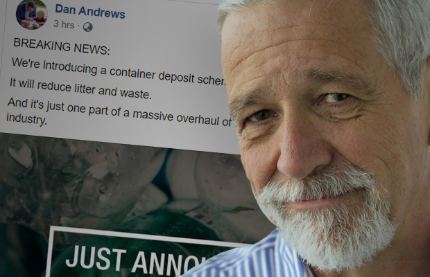 Article image for Andrews confirms cash-for-cans in social media splash with little detail