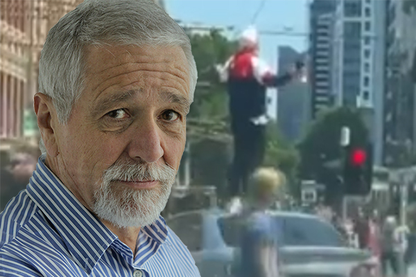 Article image for 'It scared people': Neil Mitchell says Melbourne's most iconic intersection is becoming a target