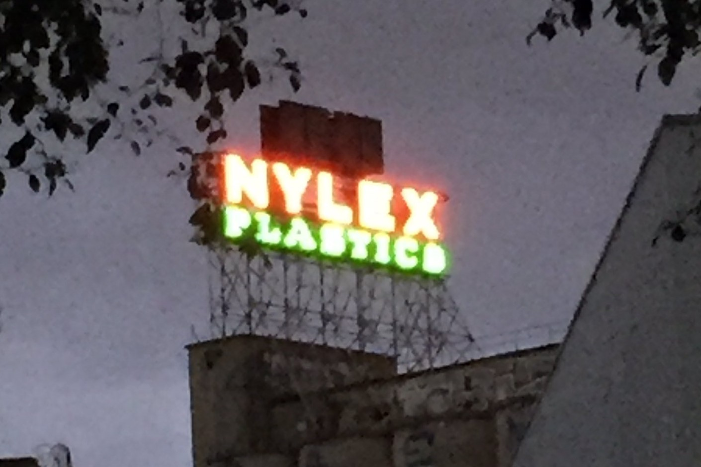 Article image for Why the Nylex sign was lit up for the first time in five years last night