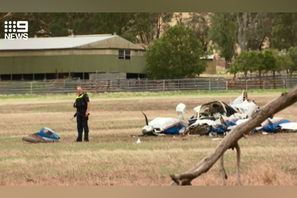 Article image for Four people dead after horrific two plane collision near Seymour