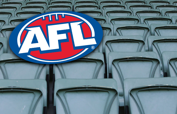 Article image for AFL preparing to play matches with no crowds if coronavirus bans are put in place