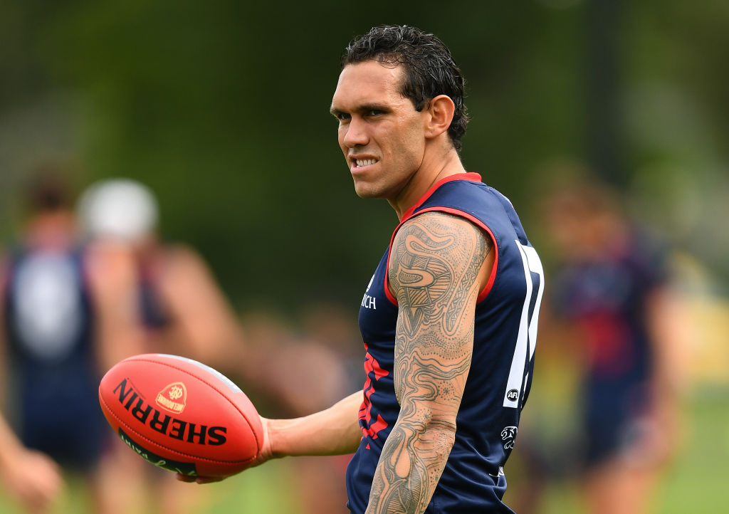 Article image for Melbourne recruit Harley Bennell suffers another calf strain