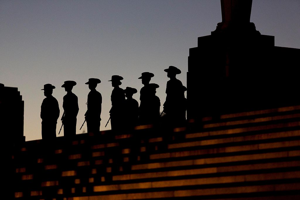 Article image for Private dawn service to be held at the Shrine of Remembrance on Anzac Day