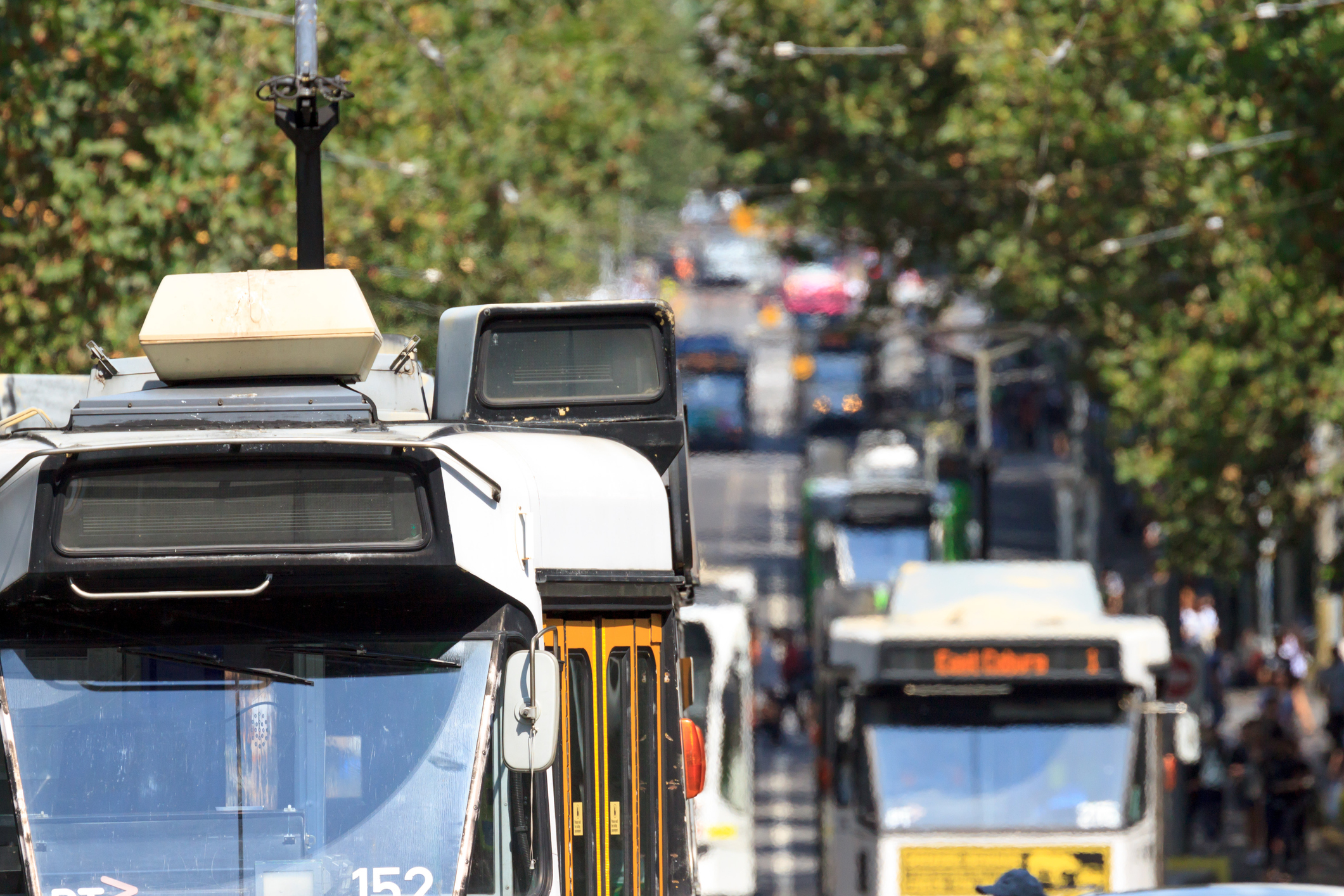Article image for Yarra Trams push to drastically increase use of barriers to stop cars driving in tram lanes