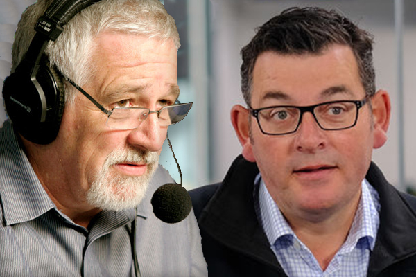 Article image for 'I'll declare peace': Neil Mitchell's offer to Daniel Andrews amid coronavirus panic