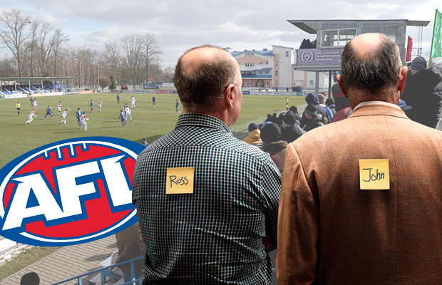 The ABFL: Ross and John's Footy Fix – Round 2 and ladder