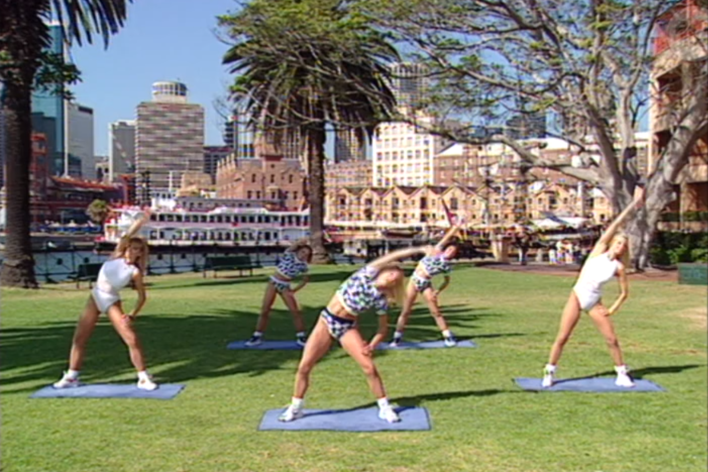 Article image for Lockdown workout: Aerobics Oz Style makes a comeback