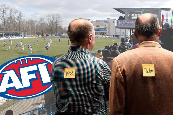 Article image for The ABFL: Ross and John's Footy Fix – Round 7 and ladder