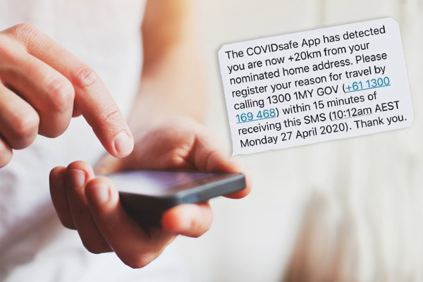Article image for Hoax messages claiming to be from the COVIDSafe tracing app circulate