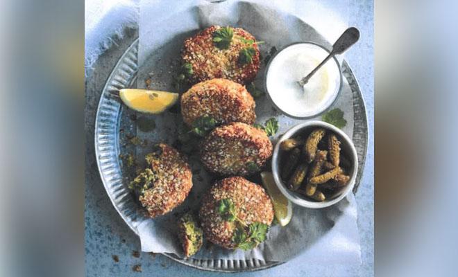 Article image for Karen Inge's quinoa crusted veggie cake recipe