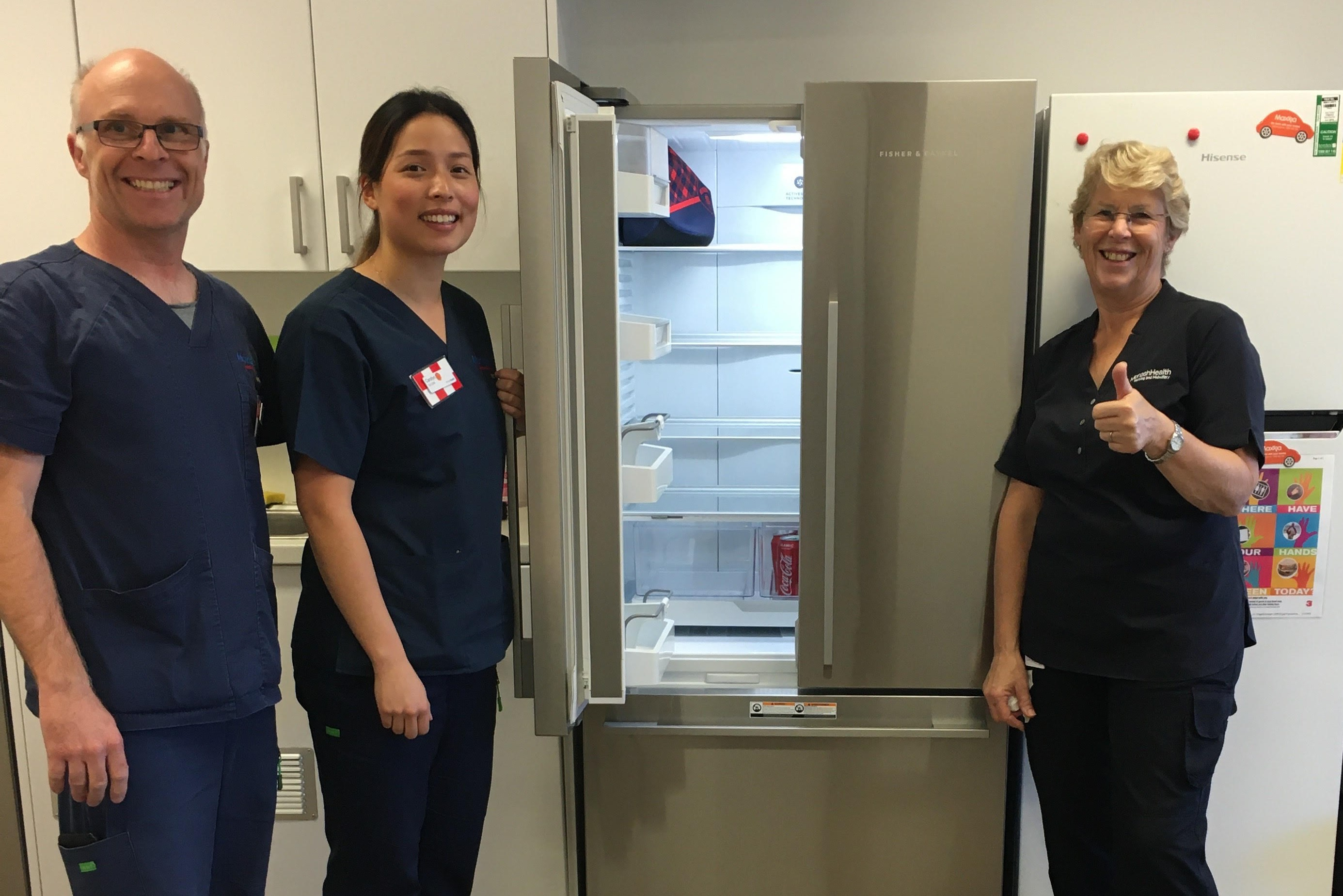 Article image for Local business saves the day after hospital ICU fridge breaks down