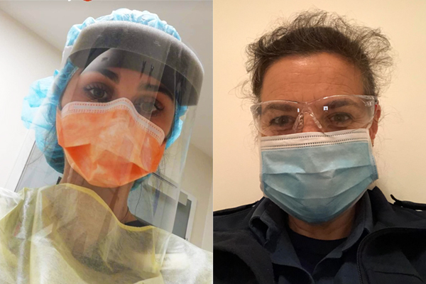 Article image for Selfies from the front-line: The workers keeping Australia's essential services running