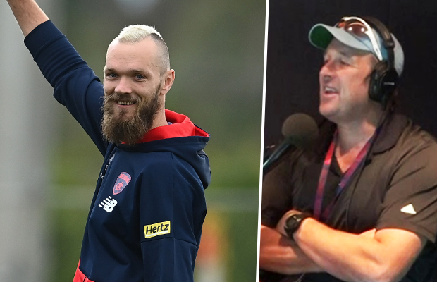 Article image for Melbourne great David Schwarz defends Max Gawn