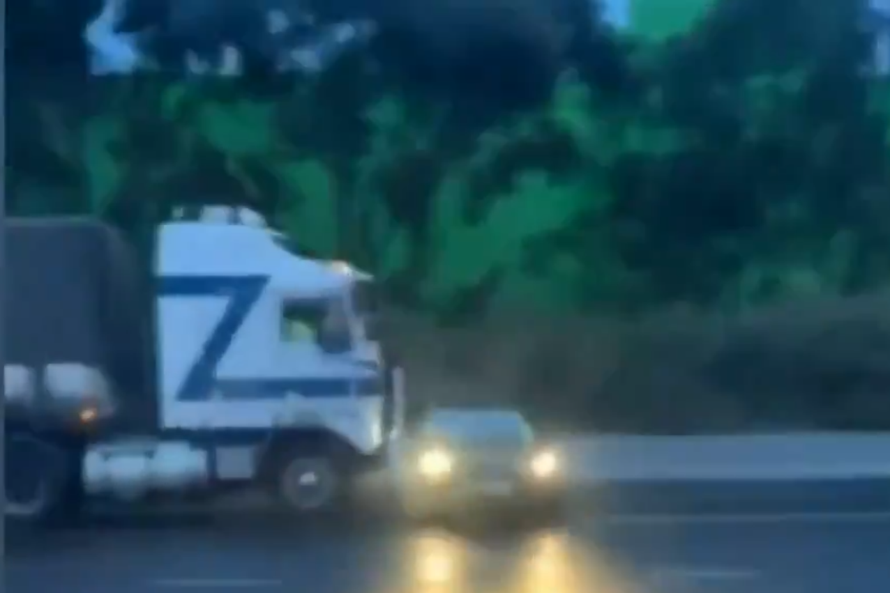 Article image for VIDEO: Shocking footage of terrifying Western Ring Road incident