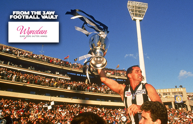 Article image for From The 3AW Vault: 1990 AFL Grand Final – Collingwood v Essendon