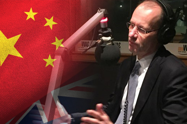 ANZ boss says the deteriorating Australia—China relationship is 'concerning'