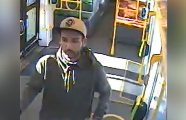 Article image for Footage released in search for tram sex creep
