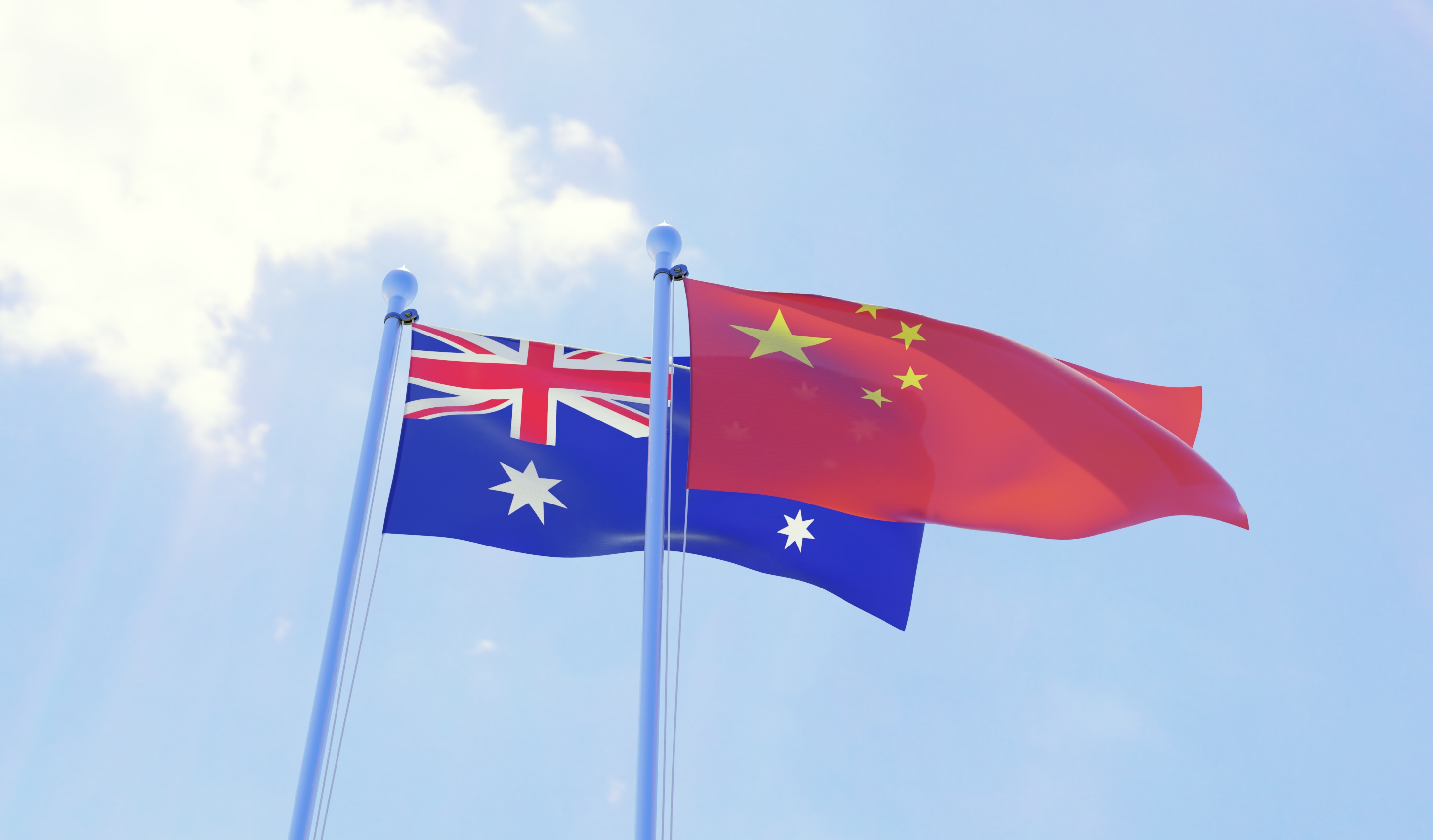 Article image for Federal minister admits 'concerns' over Victoria's relationship with China