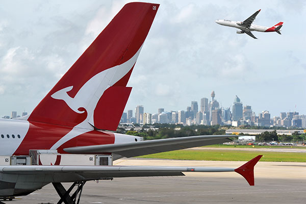 Article image for Milestone birthday for Qantas in challenging year but airline still 'broke even'